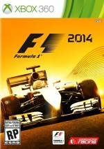 F1 2014 dvd cover