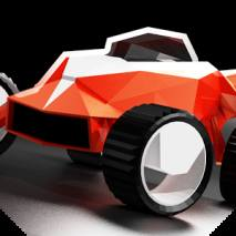 Stunt Rush: 3D Buggy Racing dvd cover