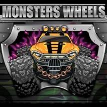 Monster Wheels: Kings of Crash dvd cover