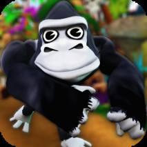 Cartoon Monkey Runner dvd cover