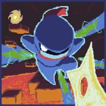 Pixel Ninja Temple dvd cover