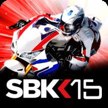 SBK15 Official Mobile Game dvd cover