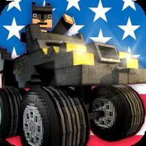 Mine Monster Truck Survival 3D dvd cover