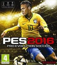 Pro Evolution Soccer 2016 dvd cover