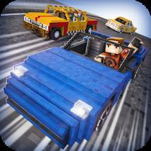 Survival Cars . Blocky Racing dvd cover