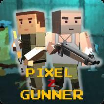 Pixel Z Gunner Cover