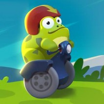 Ride with the Frog dvd cover