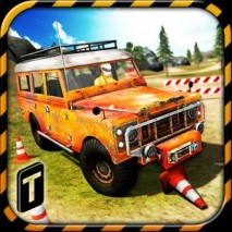 Offroad Parking Challenge 3D dvd cover