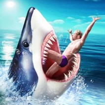 Shark Simulator Megalodon dvd cover
