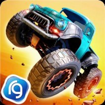Monster Trucks Racing dvd cover